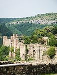 Walls of the fortess of Tsarevets, Veliko Tarnovo