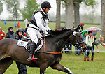 LEXINGTON, KY - APRIL 30: Michael Jung, aboard Fischerrocana Fst, competes in the Cross Country Test for the Rolex Kentucky 3-Day Event at the Kentucky Horse Park.  April 30, 2016 in Lexington, Kentucky. (Photo by Candice Chavez/Eclipse Sportswire/Getty Images)