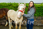 Enjoying Camp Horse Fair on Monday, l to r: Sinead Allan (Tralee) with her horse.