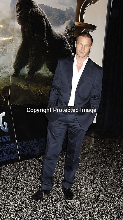 """Thomas Kretschmann ..at The World Premier of Universal Pictures """" King Kong"""" ..on December 5, 2005 at The Loews E-Walk. ..Photo by Robin Platzer, Twin Images"""