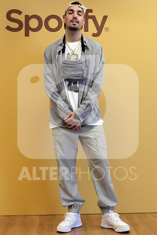 The urban music singer, Rels B, during the Spanish Urban Music Event organized by Spotify on September 25, 2019 in Madrid, Spain.(ALTERPHOTOS/ItahisaHernandez)