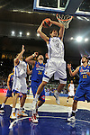 MADRID, Spain (22/01/11). Liga ACB de baloncesto, jornada 18, Real Madrid vs Asefa Estudiantes. Caja Magica...Nikola Mirotic...©Raul Perez .