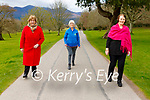 Noreen Collins, Catherine O'Reilly and Angela Curran launching the Vivian O'Shea/Sheila McGillicuddy Long Good Friday walk in Killarney on Monday
