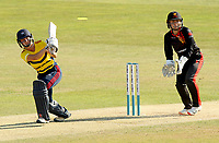 Alice Capsey of South East Stars in batting action during Sunrisers vs South East Stars, Rachael Heyhoe Flint Trophy Cricket at The Cloudfm County Ground on 13th September 2020