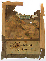 BNPS.co.uk (01202) 558833. <br /> Pic: Humbert&EllisAuctioneers/BNPS<br /> <br /> A 'lost' portrait of author Emily Brontë is set to fetch £40,000 at auction.<br /> <br /> Professor Christopher Heywood bought the painting a decade ago and carried out four years of extensive academic research to prove the figure was the Wuthering Heights author.<br /> <br /> Following his death in March, the lost Bonnet Portrait is being sold without a reserve at Humbert & Ellis auctioneers in Towcester, Northamptonshire.<br /> <br /> The painting is attributed to Bradford portrait artist John Hunter Thompson and is thought to be the original picture on which an illustration was made for 'Woman at Home' in July 1894.
