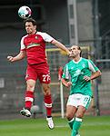 17.10.2020, Schwarzwald Stadion, Freiburg, GER, 1.FBL, SC Freiburg vs SV Werder Bremen<br /><br />im Bild / picture shows<br />Nicolas Höfler (Freiburg), Niclas Füllkrug (Bremen)<br /><br />Foto © nordphoto / Bratic<br /><br />DFL REGULATIONS PROHIBIT ANY USE OF PHOTOGRAPHS AS IMAGE SEQUENCES AND/OR QUASI-VIDEO.