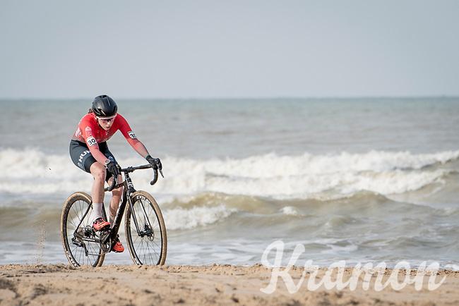 Kata Blanka Vas (HUN)<br /> <br /> UCI 2021 Cyclocross World Championships - Ostend, Belgium<br /> <br /> U23 Women's Race<br /> <br /> ©kramon