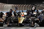 2018 IndyCar Phoenix testing<br /> Phoenix Raceway, Avondale, Arizona, USA<br /> Saturday 10 February 2018<br /> James Hinchcliffe, Schmidt Peterson Motorsports Honda, pit stop<br /> World Copyright: Michael L. Levitt<br /> LAT Images<br /> ref: Digital Image _01I9134