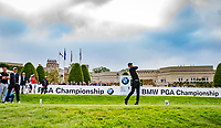 Pep Guardiola (Manchester City Manager) during the BMW PGA PRO-AM GOLF at Wentworth Drive, Virginia Water, England on 23 May 2018. Photo by Andy Rowland.