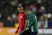 Carson, CA - Sunday January 28, 2018: Juan Agudelo during an international friendly between the men's national teams of the United States (USA) and Bosnia and Herzegovina (BIH) at the StubHub Center.