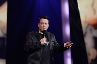 Le controversé humoriste Mike Ward, avril 2016.<br /> <br /> PHOTO : Agence Quebec Presse
