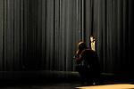 INCANTUS..Auteur : DUPONT Vincent..Choregraphie : DUPONT Vincent..Mise en scene : DUPONT Vincent..Compositeur : LATINI Raphaelle DUPONT Vincent BALASSE Thierry..Lumiere : GODIN Yves..Costumes : PETITPIERRE Corine..Avec :..GRANDVILLE Olivia..HIRSCH Werner..VALLADE Manuel..DUPONT Vincent..Lieu : Coupole Cite Internationale..Ville : Paris..Le : 09 02 2011..© Laurent PAILLIER / photosdedanse.com..All rights reserved