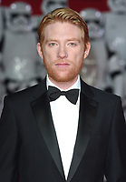 """Domhall Gleeson<br /> arriving for the """"Star Wars: The Last Jedi"""" film premiere at the Royal Albert Hall, London.<br /> <br /> <br /> ©Ash Knotek  D3363  12/12/2017"""