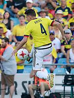 Colombia's Santiago Arias during international friendly match. June 13,2017.(ALTERPHOTOS/Acero) (NortePhoto.com) (NortePhoto.com)