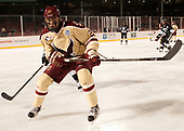 Graham McPhee (BC - 27) - The Boston College Eagles defeated the Providence College Friars 3-1 (EN) on Sunday, January 8, 2017, at Fenway Park in Boston, Massachusetts.