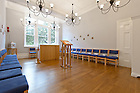 Sep 3, 2012; Chapel in Conway Hall, London.