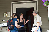 Door knocking by Our Revolution Somerville MA 9.16.17