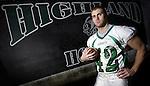 Highland's Aaron Maslowski is the 2009 Gazette MVP in football. (RON SCHWANE / GAZETTE)