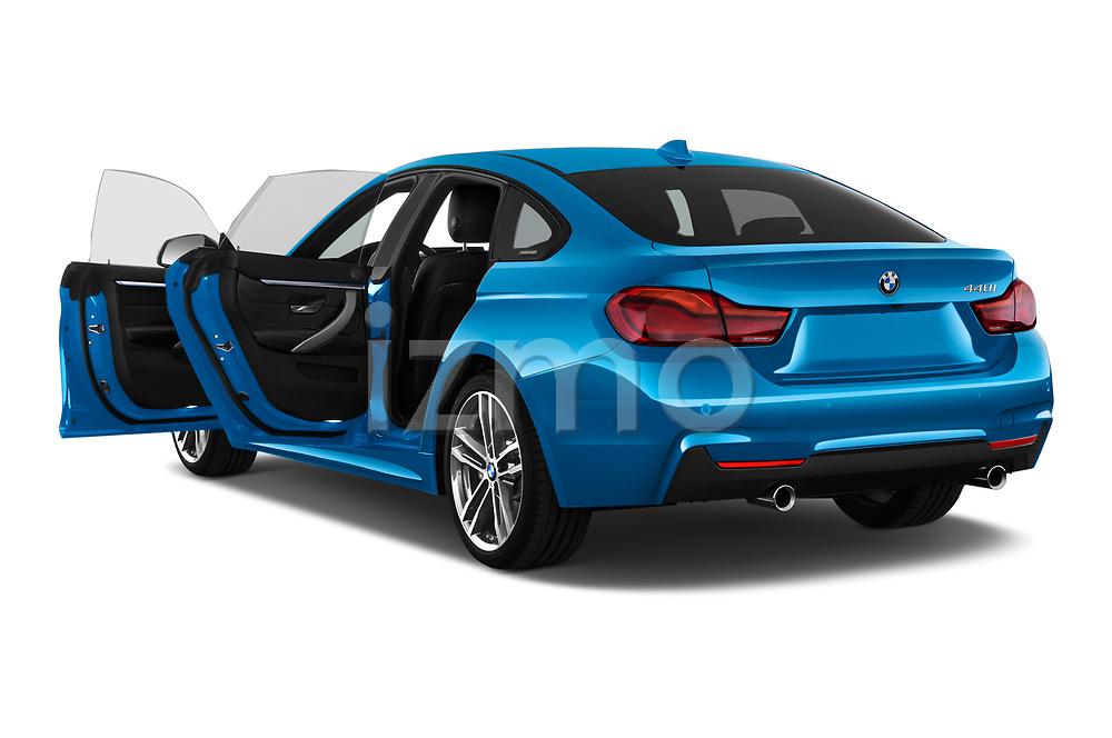 Car images close up view of 2017 BMW 4 Series Gran Coupe M Sport 5 Door Hatchback doors