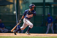 Atlanta Braves Luis Valenzuela (2) during an instructional league game against the Toronto Blue Jays on September 30, 2015 at the ESPN Wide World of Sports Complex in Orlando, Florida.  (Mike Janes/Four Seam Images)