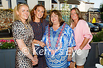 Enjoying the evening in the Ashe Hotel on Friday, l to r: Mary Egan, Catherine Leen, Karen West and Tracy Hurley.