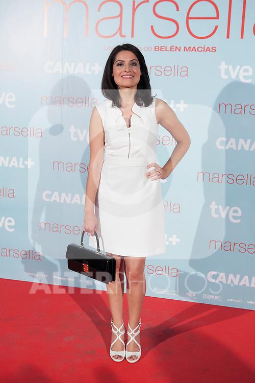 Ledicia Sola poses at `Marsella´ film premiere photocall at Capital cinema in Madrid, Spain. July 17, 2014. (ALTERPHOTOS/Victor Blanco)