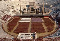 - Verona, inside of the Arena ....- Verona, interno dell'Arena