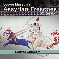 Assyrian Frescoes From Til Bartip  - Louvre