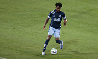 CARSON, CA - MARCH 07: Tosaint Ricketts #87 of the Vancouver Whitecaps moving with the ball during a game between Vancouver Whitecaps and Los Angeles Galaxy at Dignity Health Sports Park on March 07, 2020 in Carson, California.