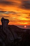 Sunrise on Mt. Evans