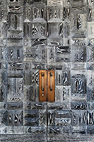 Collett-Zarzycki designed the stained oak front door and was made by John Spencer Joinery.