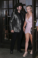 NASHVILLE, TN - SEPTEMBER 13: Denny Strickland enjoys a night out on the town with a pretty woman on his way to the Palms Restaurant in Nashville, Tennessee on September 13, 2021. Credit: SFS/MediaPunch