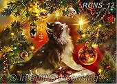 Nadia, CHRISTMAS ANIMALS, WEIHNACHTEN TIERE, NAVIDAD ANIMALES, paintings+++++,RUNS12,#XA#