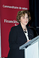 Montreal (QC) CANADA,Oct 19 2009-  Dr. Judith Woodsworth<br /> President & Vice-Chancellor<br /> Concordia University AT THE CANADIAN CLUB OF MONTREAL'S PODIUM.