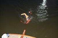 ZWEMMEN: FRYSLÂN: 18-19-08-2018, Elfstedenzwemtocht, Maarten van der Weijden, Molkwerum, ©foto Martin de Jong