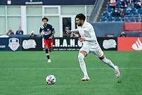 FOXBOROUGH, MA - MAY 1: Marcelino Moreno #10 of Atlanta United FC during a game between Atlanta United FC and New England Revolution at Gillette Stadium on May 1, 2021 in Foxborough, Massachusetts.