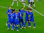 Fussball-Bundesliga - Saison 2020/2021<br /> Opel-Arena Mainz - 7.11.2020<br /> 1. FSV Mainz 05 (mz) - Schalke 04 (s04)<br /> Jubel nach dem 1:1 re: Torschütze Mark UTH (FC Schalke 04), daneben Gonçalo PACIENCIA (FC Schalke 04)<br /> <br /> Foto © PIX-Sportfotos *** Foto ist honorarpflichtig! *** Auf Anfrage in hoeherer Qualitaet/Aufloesung. Belegexemplar erbeten. Veroeffentlichung ausschliesslich fuer journalistisch-publizistische Zwecke. For editorial use only. DFL regulations prohibit any use of photographs as image sequences and/or quasi-video.