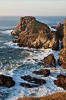 Europe/France/Bretagne/29/Finistère/Cléden-Cap-Sizun: Côte rocheuse à la Pointe du Van