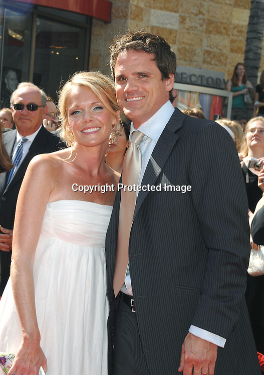 Maura West and Michael Park ..arriving at The 34th Annual Daytime Emmy Awards on ..June 15, 2007 at The Kodak Theatre in Hollywood, California. ..Robin Platzer, Twin Images......212-935-0770