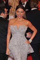 Sofia Vergara at the 'Schiaparelli And Prada: Impossible Conversations' Costume Institute Gala at the Metropolitan Museum of Art on May 7, 2012 in New York City. ©mpi03/MediaPunch Inc.