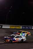 #11: Denny Hamlin, Joe Gibbs Racing, Toyota Camry FedEx Cares #18: Kyle Busch, Joe Gibbs Racing, Toyota Camry M&M's