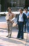 "BERNARDO BERTOLUCCI  CON VITTORIO STORARO<br /> SUL SET DEL FILM ""LA LUNA"" ROMA 1979"