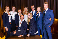 The Hague, The Netherlands, Februari 5, 2020,    Penthouse, FedCup  Netherlands -  Balarus, Official Dinner, <br /> Photo: Tennisimages/Henk Koster