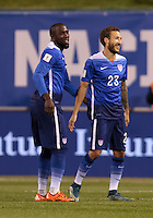 St. Louis, Mo. - Friday, November 13, 2015: The USMNT take a 3-1 lead over St. Vincent and the Grenadines in first half play during  their 2018 FIFA World Cup Qualifying match at Busch Stadium.