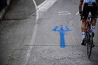 The Tirreno-Adriatico trident<br /> <br /> Stage 5 from Castellalto to Castelfidardo (205km)<br /> <br /> 56th Tirreno-Adriatico 2021 (2.UWT) <br /> <br /> ©kramon