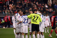 Jubel beim VfL Bochum<br /> Eintracht Frankfurt vs. VfL Bochum, Commerzbank Arena<br /> *** Local Caption *** Foto ist honorarpflichtig! zzgl. gesetzl. MwSt. Auf Anfrage in hoeherer Qualitaet/Aufloesung. Belegexemplar an: Marc Schueler, Am Ziegelfalltor 4, 64625 Bensheim, Tel. +49 (0) 6251 86 96 134, www.gameday-mediaservices.de. Email: marc.schueler@gameday-mediaservices.de, Bankverbindung: Volksbank Bergstrasse, Kto.: 151297, BLZ: 50960101