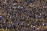 Cal fans cheer on their team against Nevada at Memorial Stadium in Berkeley, California on September 1st, 2012.