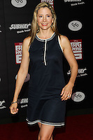 HOLLYWOOD, LOS ANGELES, CA, USA - NOVEMBER 04: Mira Sorvino arrives at the Los Angeles Premiere Of Disney's 'Big Hero 6' held at the El Capitan Theatre on November 4, 2014 in Hollywood, Los Angeles, California, United States. (Photo by Celebrity Monitor)