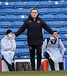 21.02.2021 Rangers v Dundee Utd: Micky Mellon