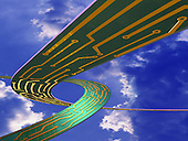Highway in sky mapped with circuit